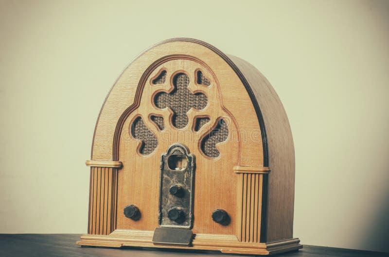 Joueur par radio de vintage illustration stock