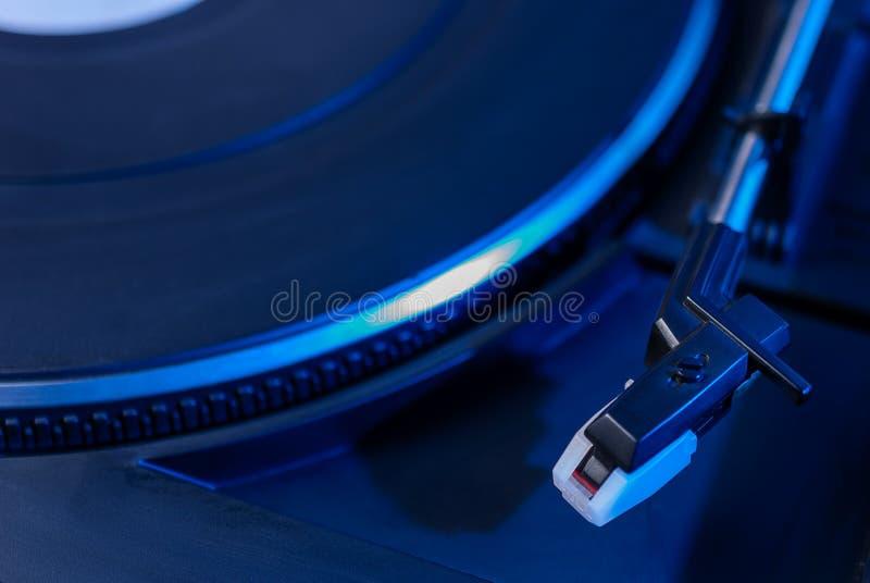 Joueur professionnel de disque vinyle du DJ image stock