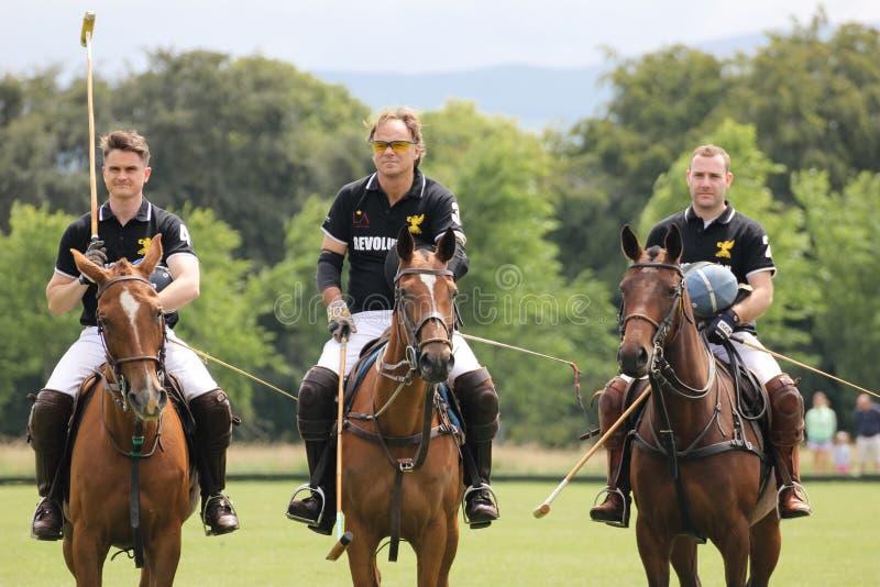 Joueurs de polo Tasse argentine dublin l'irlande image stock