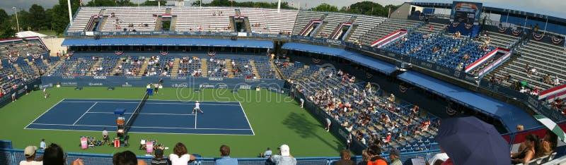 Joueurs de tennis professionnel - allumette photo libre de droits