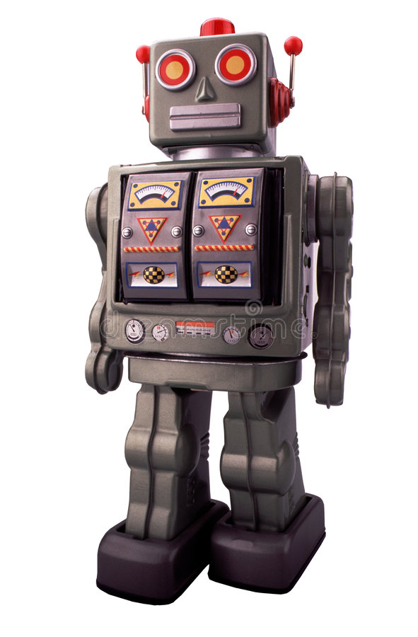 Jouez Le Robot Photos libres de droits