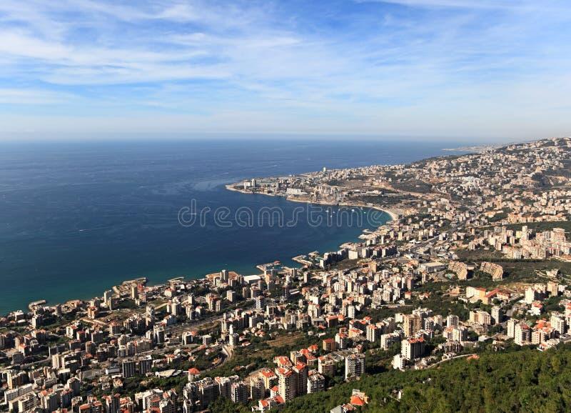 Jounieh, der Libanon stockfotos