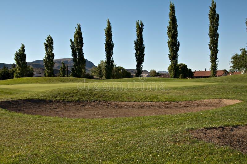 Jouons au golf image stock