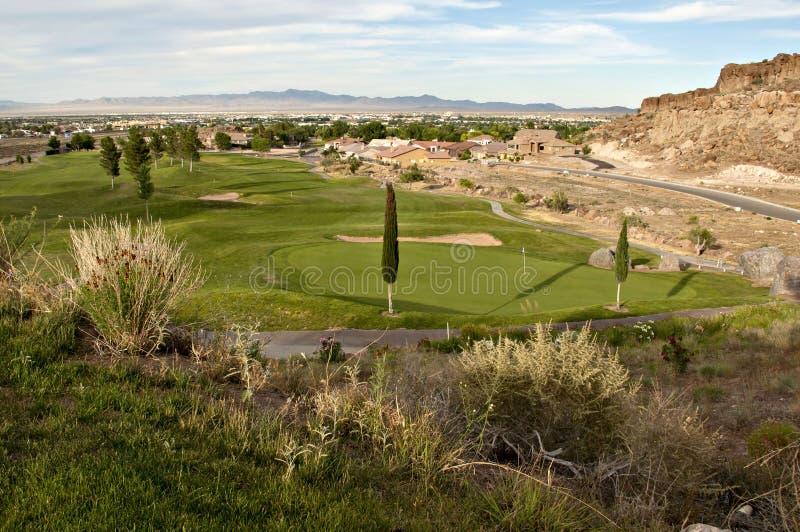 Jouons au golf photos libres de droits