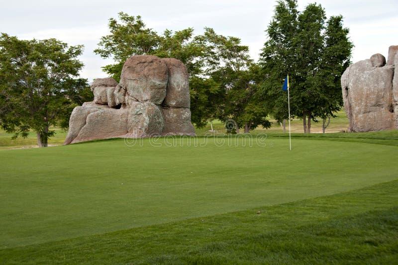 Jouons au golf images stock