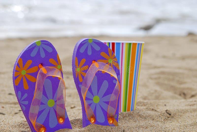 Jour à la plage photographie stock