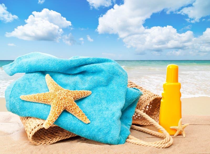 Jour à la plage photographie stock libre de droits