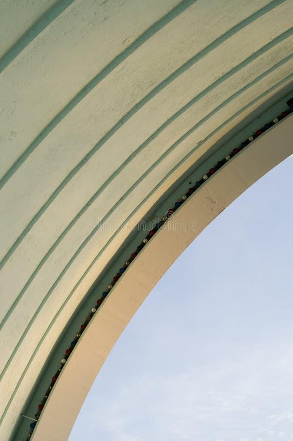 Jour au-dessus de Bandshell photos stock