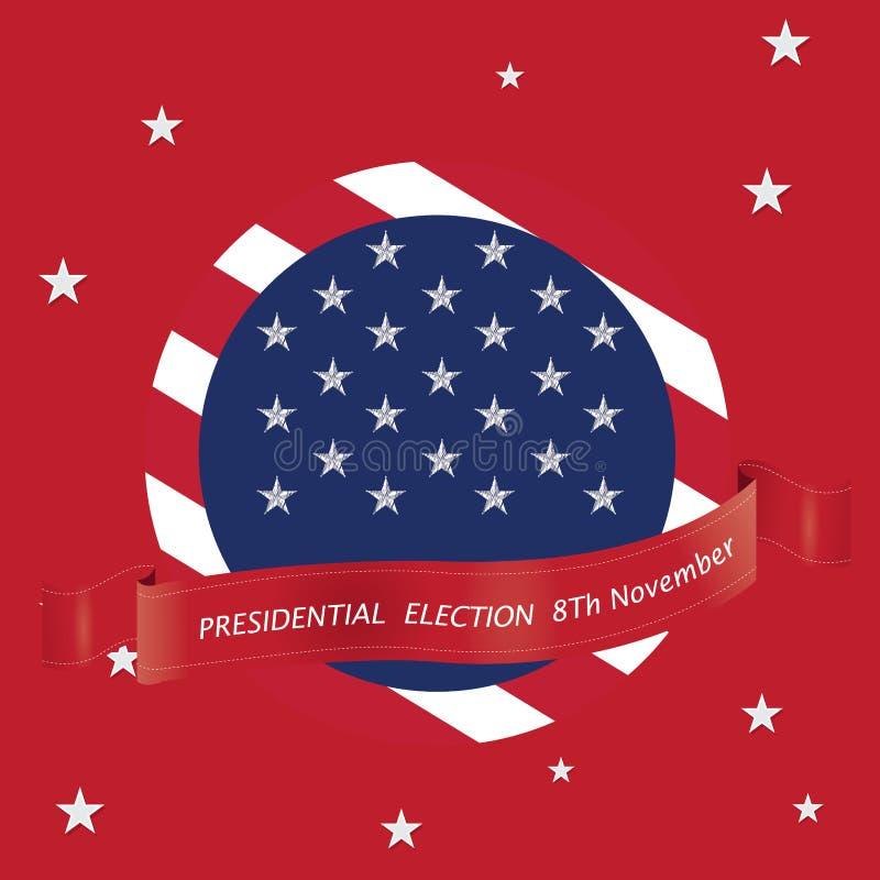 Jour d'élection illustration de vecteur