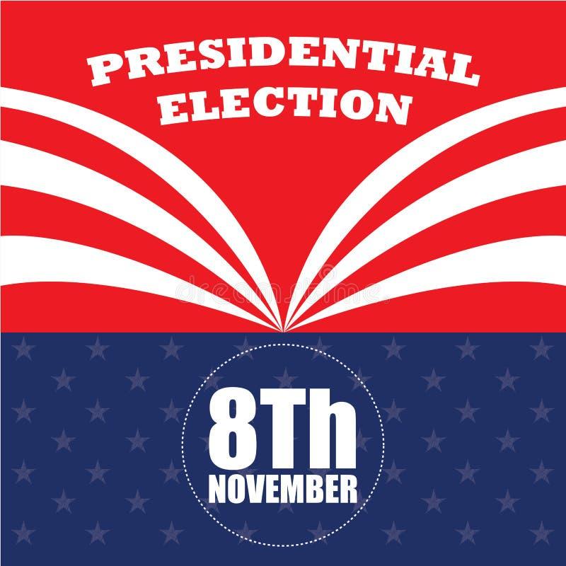 Jour d'élection illustration stock