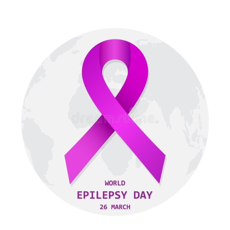 Jour d'épilepsie du monde Illustration de vecteur illustration stock