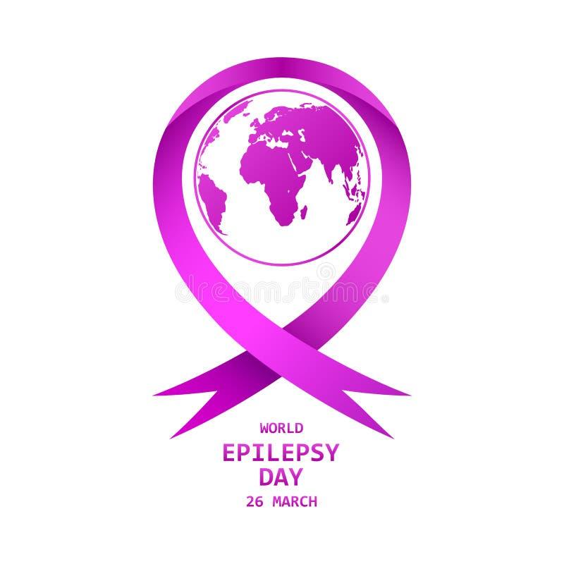 Jour d'épilepsie du monde Illustration de vecteur illustration de vecteur