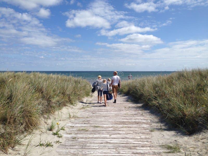 Jour d'été au Danemark image stock