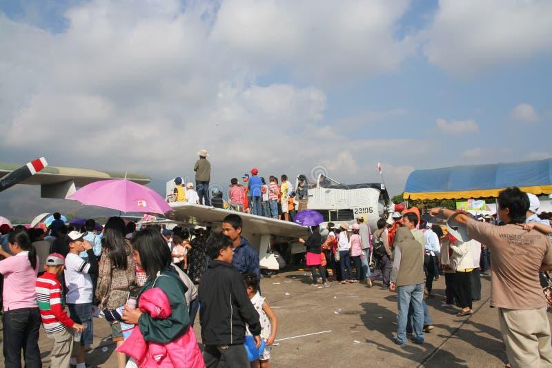 Jour d'enfants dans Chiangmai images libres de droits