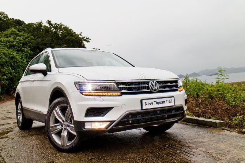 Download Jour D'entraînement D'essai De Volkswagen Tiguan 2016 Photo stock éditorial - Image du moderne, famille: 77150163