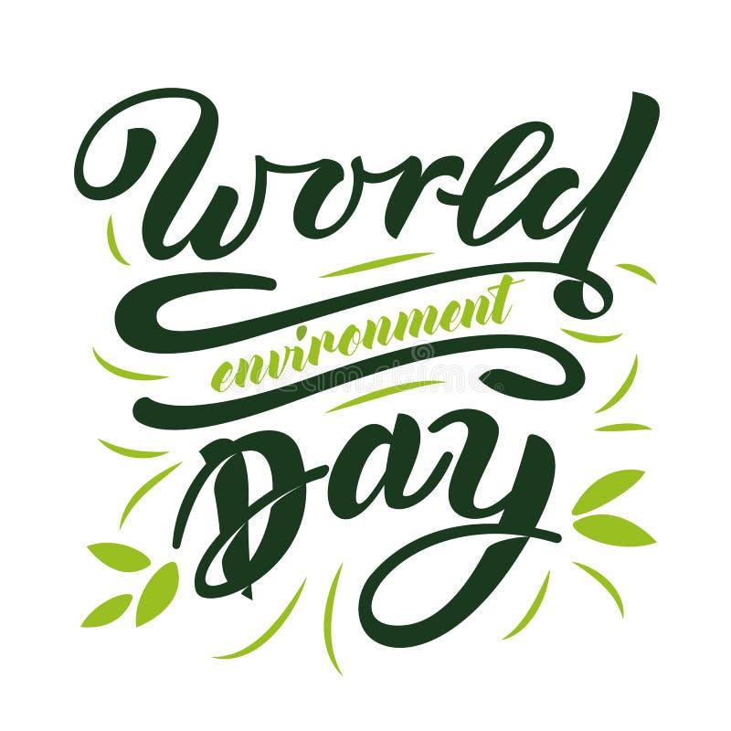 Jour d'environnement du monde