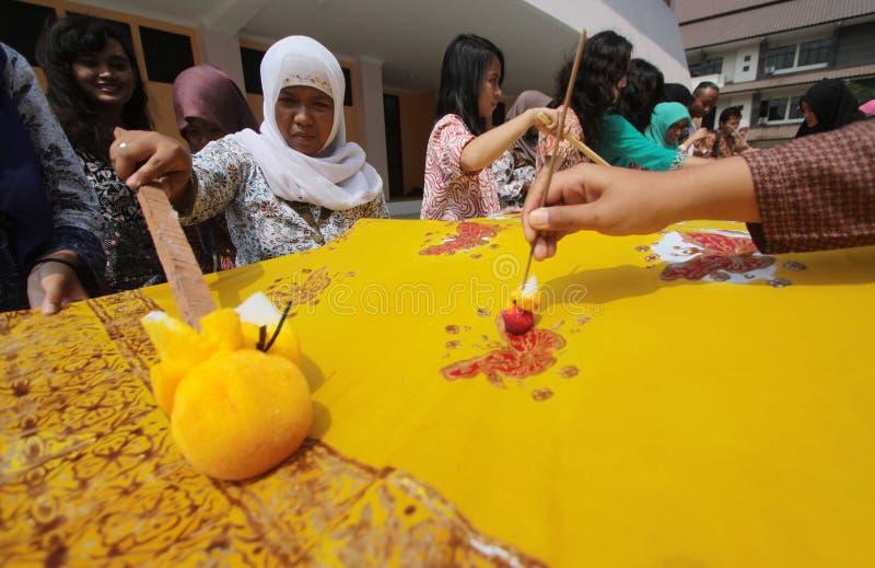 Jour de batik images libres de droits