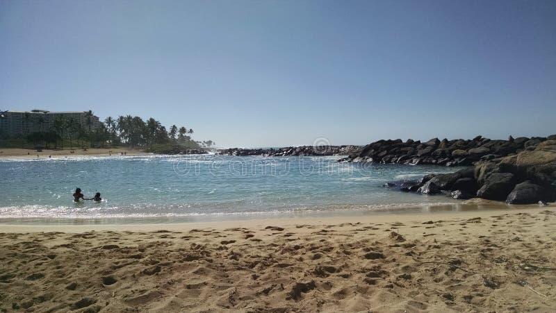 Jour de Beuitful en Hawaï images stock