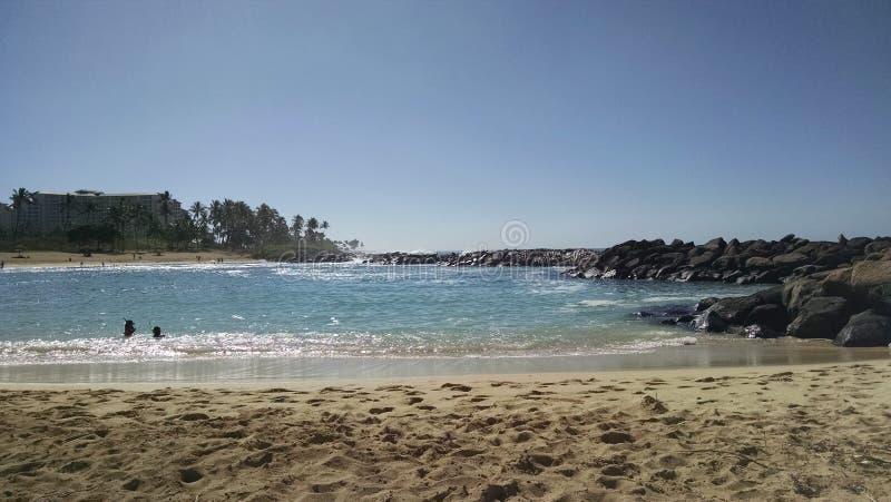 Jour de Beuitful en Hawaï photographie stock libre de droits