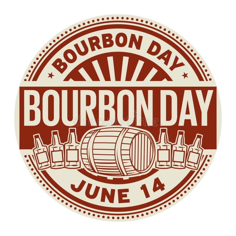 Jour de Bourbon, le 14 juin illustration stock