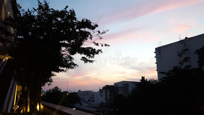 Jour de ciel photographie stock