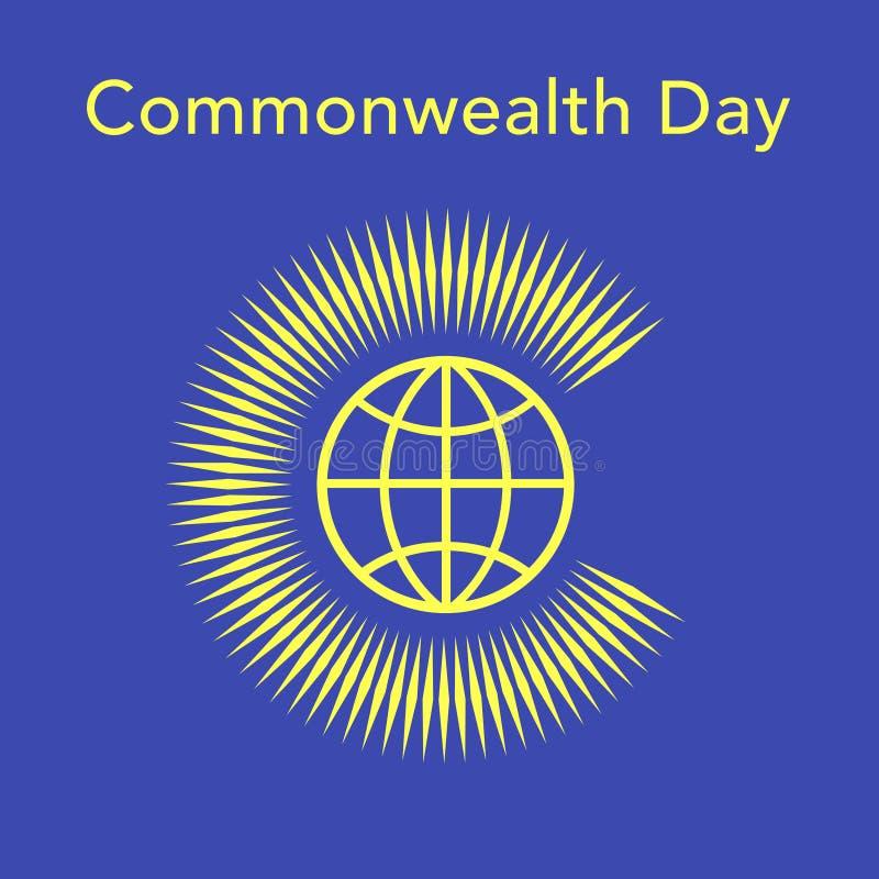 Jour de Commonwealth illustration de vecteur