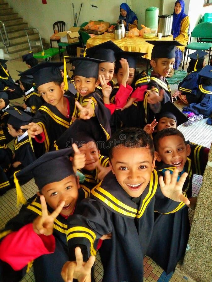 Jour de convocation d'enfants photos stock