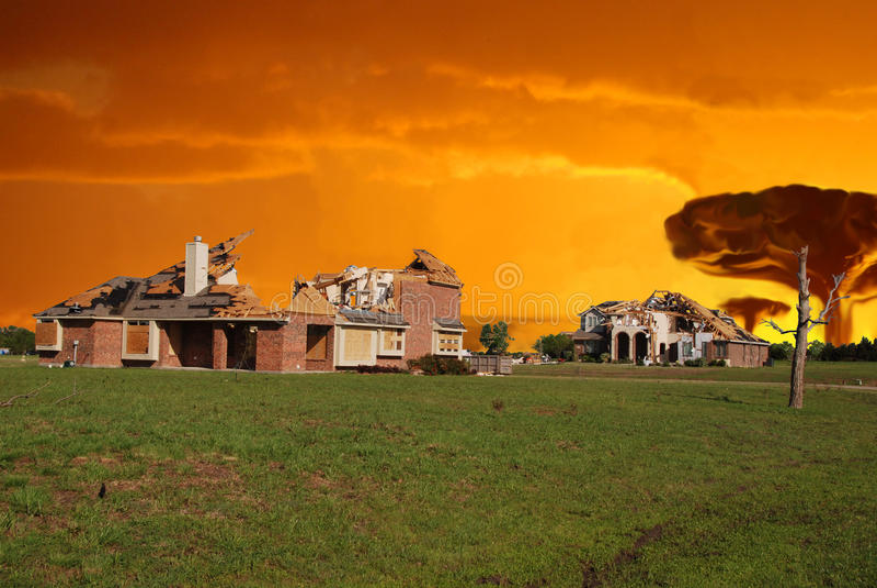 Jour de destruction photographie stock libre de droits