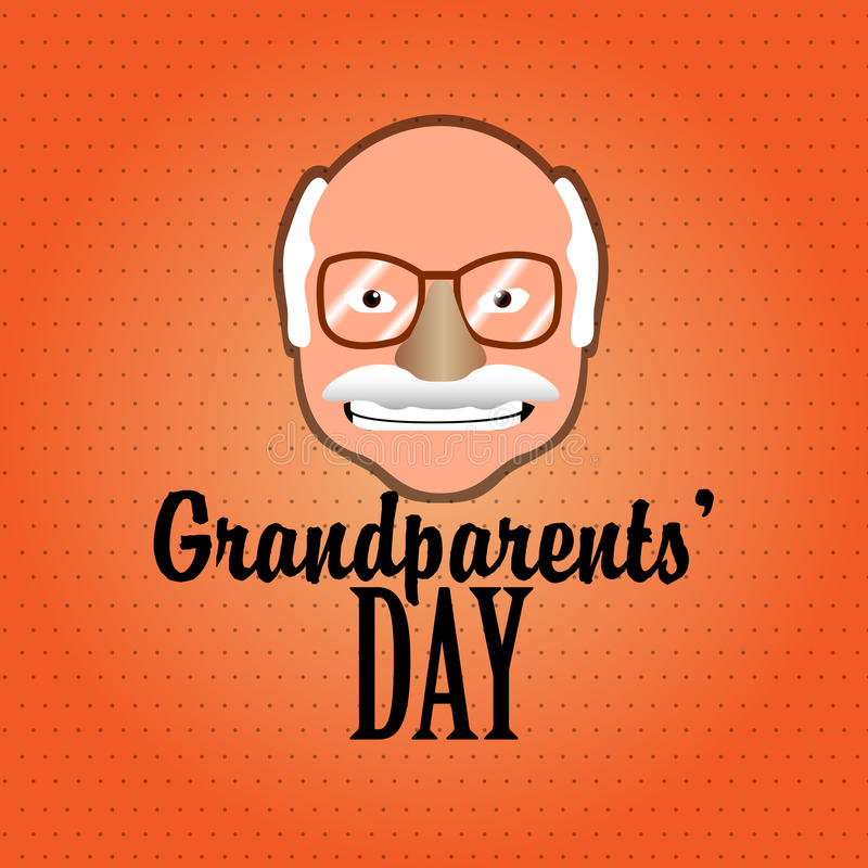 Jour de grands-parents illustration libre de droits