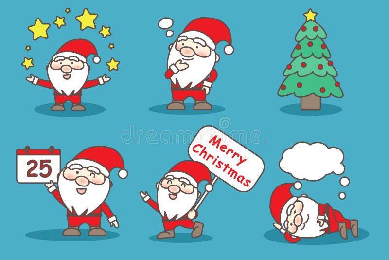Jour de Joyeux Noël illustration stock