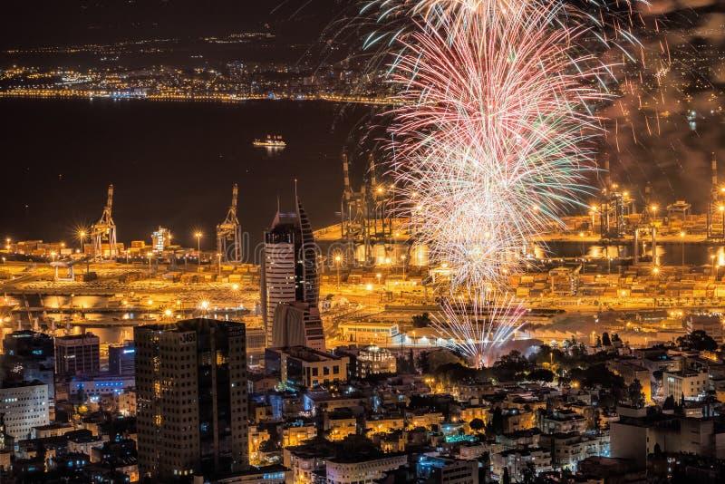 Jour de la Déclaration d'Indépendance de l'Israël photo stock