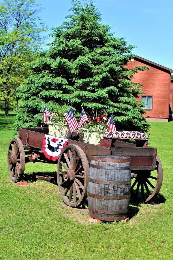 Jour de la Déclaration d'Indépendance, quatrième de juillet, Etats-Unis d'Amérique photo stock