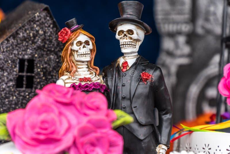 Jour de la figurine morte images libres de droits
