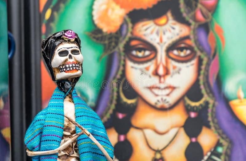 Jour de la figurine morte photographie stock libre de droits