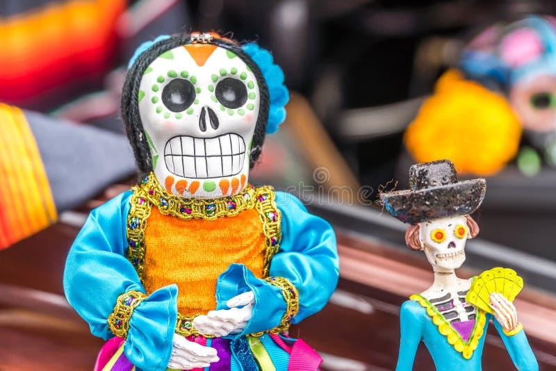 Jour de la figurine morte photos stock