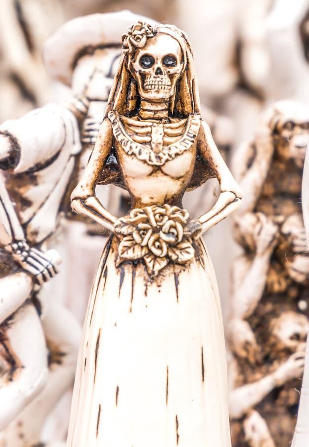 Jour de la figurine morte image libre de droits