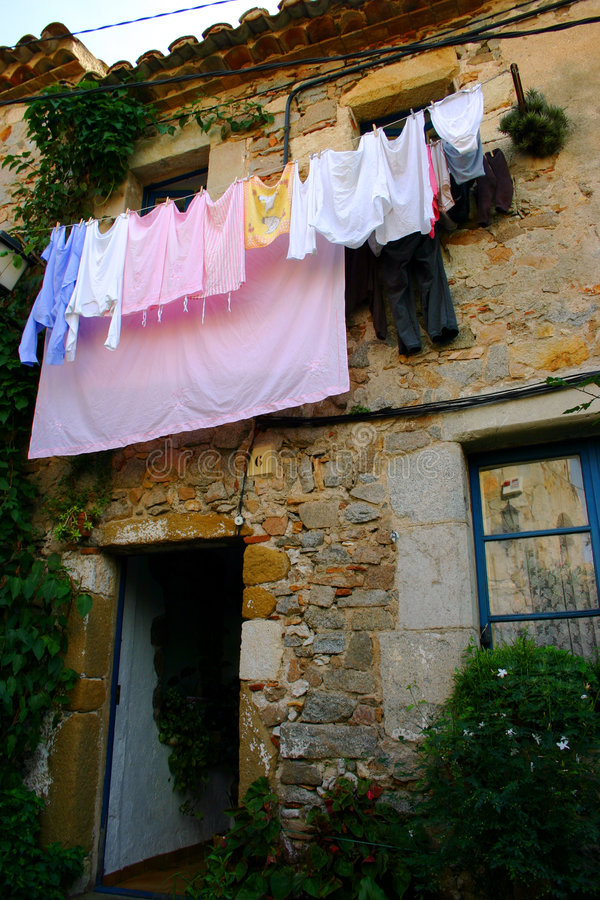 Jour de lavage photo stock