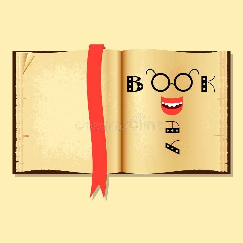 Jour de livre et de copyright du monde illustration de vecteur