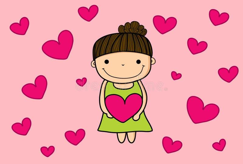Jour de Mara Happy Valentine photos libres de droits