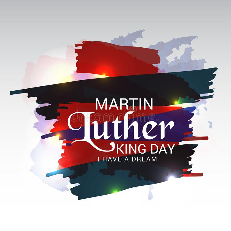Jour de Martin Luther King illustration de vecteur