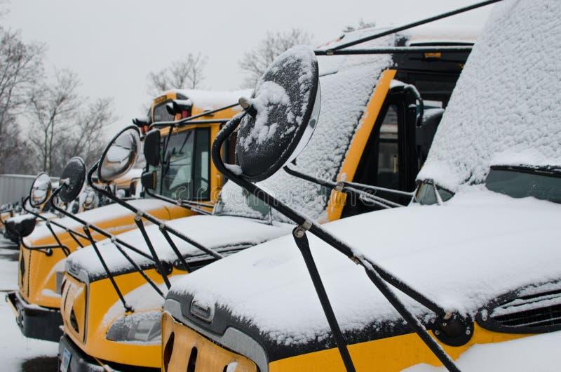 Jour de neige photographie stock libre de droits