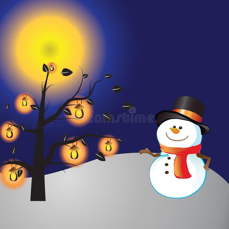 Jour de Noël illustration libre de droits