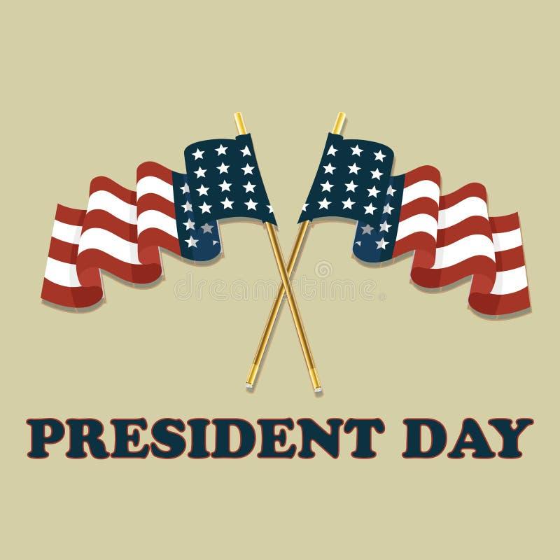 Jour de président illustration stock
