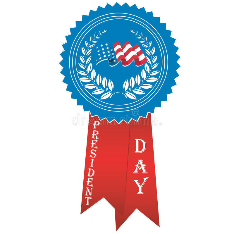 Jour de présidents illustration stock