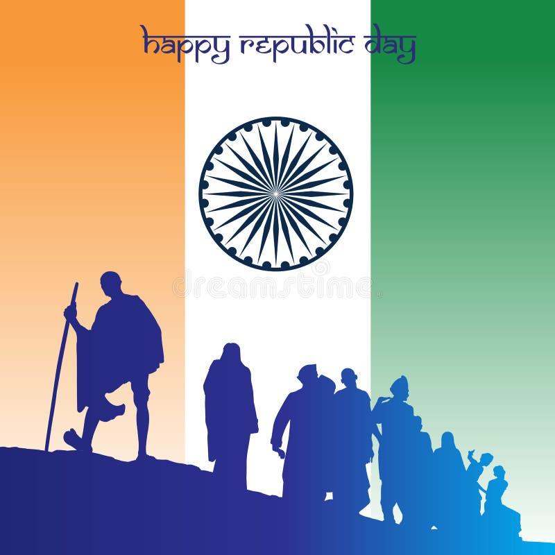 Jour de République d'Inde illustration libre de droits