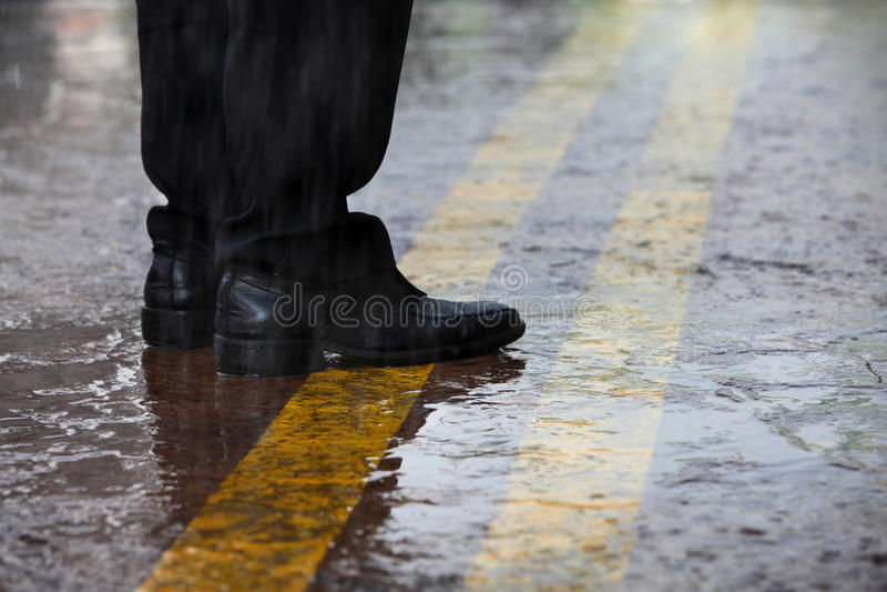 Jour de Rainning photo stock