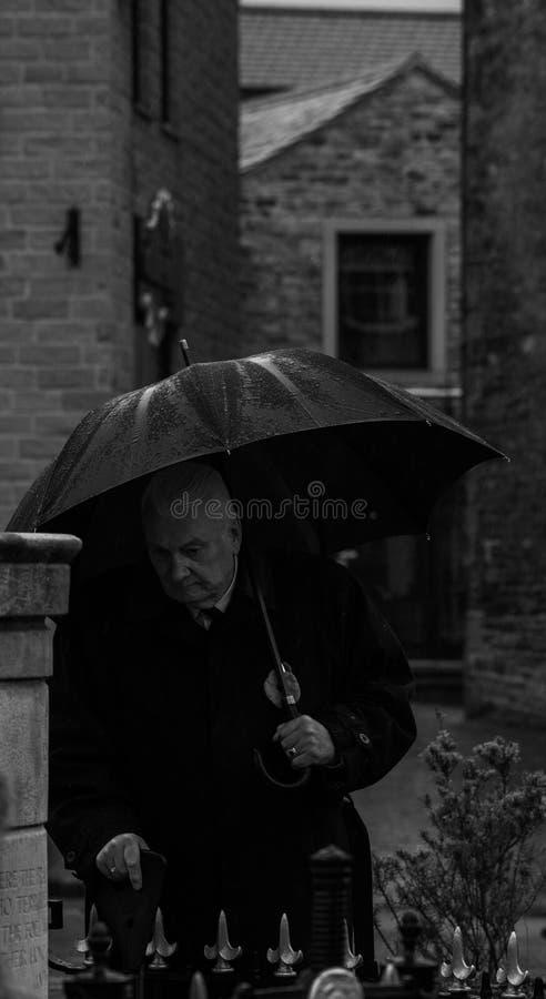 Jour de souvenir skipton Le Royaume-Uni 11 11 2018 photos libres de droits