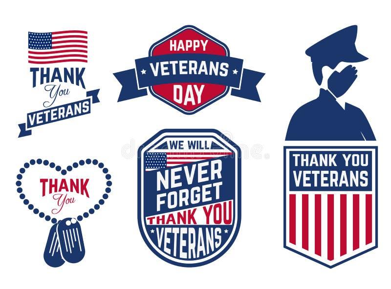 Jour de vétérans illustration stock