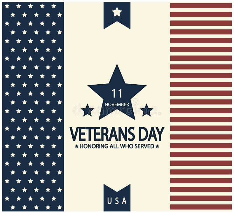 Jour de vétérans illustration libre de droits