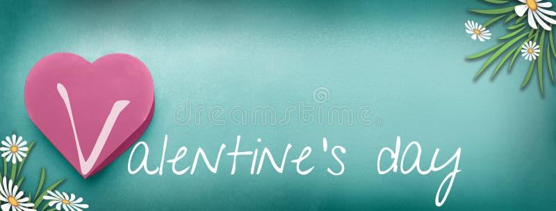 Jour de valentines, fond image stock